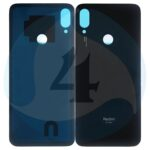 Xiaomi Redmi Note 7 Battery Cover Black 1000x1000h
