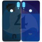 Xiaomi Redmi Note 7 Battery Cover Blue 1000x1000h