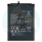 Battery bn55 de 5020mah para xiaomi note 9s