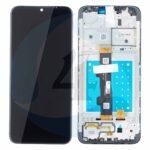 Eng pl LCD Touch Pad Complete Motorola Moto E7 Xt2095 With Frame Black 5 D68 C17784 Original S Ervice Pack 83249 1