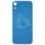 For Apple i Phone XR Batterij cover glass Blue
