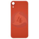 For Apple i Phone XR Batterij cover glass orange