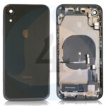 For Apple i Phone XR Batterij cover pulled compleet Black