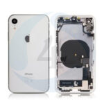 For Apple i Phone XR Batterij cover pulled compleet White
