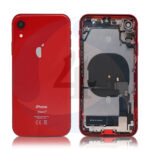 For Apple i Phone XR Batterij cover pulled compleet red