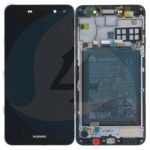 Huawei y5 2017 mya l22 display module frontcoverlcddigitizerbattery dark grey 02351dmd scherm display