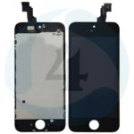 I Phone 5 C Display plus Touchscreen plus Metal Plate Aplus High Quality Black jpg2