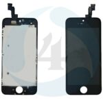 I Phone 5 S SE Display plus Touchscreen plus Metal Plate Aplus High Quality Black