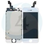 I Phone 5 S SE Display plus Touchscreen plus Metal Plate Aplus High Quality White