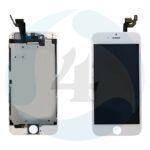 I Phone 6 Display plus Touchscreen plus Metal Plate High Quality White