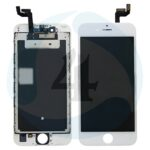 I Phone 6 S Display plus Touchscreen plus Metal plate Replacement Glass OEM White