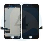 I Phone 7 Display plus Touchscreen plus Metal Plate High Quality Black
