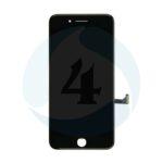 I Phone 8 PLUS LG DTP C3 F LC Dplus Digitizer plus Metal Plate Complete OEM Replacement Glass Black