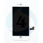 I Phone 8 PLUS LG DTP C3 F LC Dplus Digitizer plus Metal Plate Complete OEM Replacement Glass white