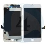 I Phone 8 Plus Display plus Touchscreen plus Metal Plate Aplus High Quality White