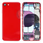 I Phone 8 middle frame backcover red