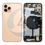 Iphone 11 pro max backcover housing gold