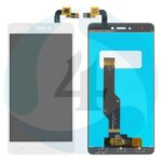 Lcd for xiaomi redmi note 4x white with touchscreen high copy snapdragon