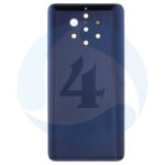 Nokia 9 batterij cover blue