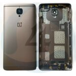 Oneplus 3t batterij cover gold