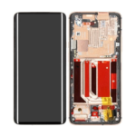 Oneplus 7pro lcd scherm display with frame gold