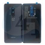 Oneplus 8pro batterij cover black