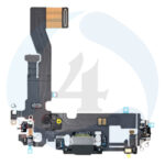 Replacement for iphone 12 12 pro usb charging flex cable black