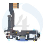 Replacement for iphone 12 12 pro usb charging flex cable blue
