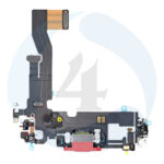 Replacement for iphone 12 12 pro usb charging flex cable red