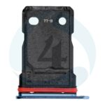 Replacement for oneplus 7t dual sim card tray glacier blue 1