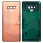 Replacement for samsung galaxy note 9 sm n960 back cover metallic copper
