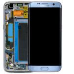 Samsung Galaxy G935 s7edge Service pack lcd scherm display screen Blue