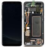 Samsung g955f galaxy s8 plus lcd display scherm screen black service pack