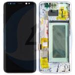 Samsung galaxy G950 lcd scherm display s8 assem premium silverr