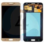 Samsung galaxy J720 oled lcd display scherm Gold
