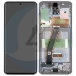 Samsung galaxy S20 G980 G981 lcd scherm display grey service pack