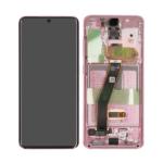Samsung galaxy S20 G980 G981 lcd scherm display pink service pack