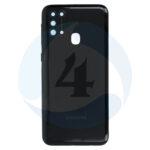 Samsung galaxy m31 sm m315f battery cover space black