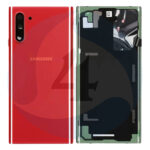 Samsung galaxy note 10 N970 Batterij cover back cover red