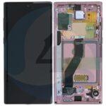 Samsung galaxy note 10 sm n970f display unit complete aura pink gh82 20817f gh82 20818f