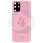Samsung galaxy s20 plus rear battery cover including lens with adhesive cloud pink G985 G986