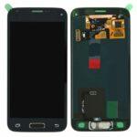 Samsung galaxy s5 mini G800 service pack display scherm lcd screen black