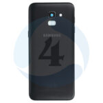 Samsung galaxy sm J600f J6 batterij cover Black