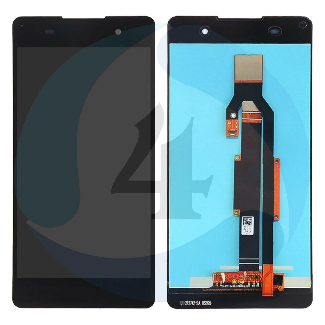 I Phone 6 Display plus Touchscreen plus Metal Plate High Quality Black