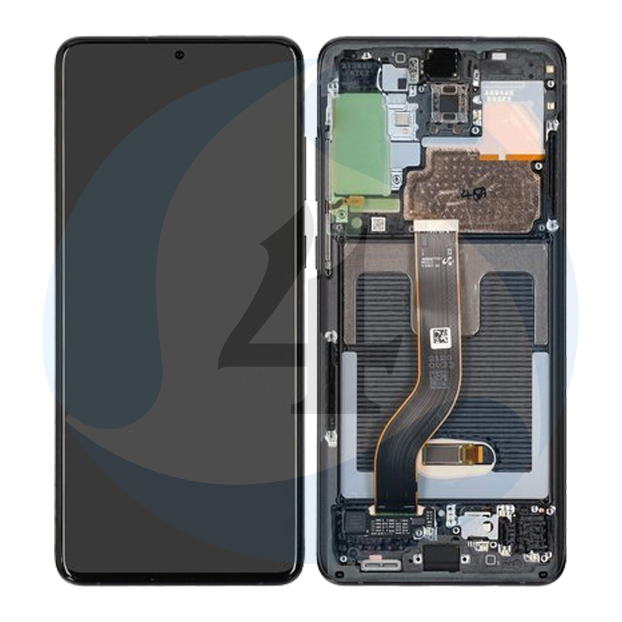 Samsung galaxy s20 plus G986 lcd scherm display Black